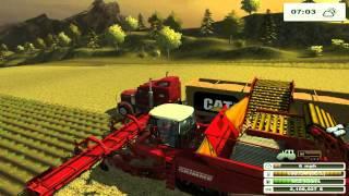 getlinkyoutube.com-Farming sim SaturdayTackling the Large field