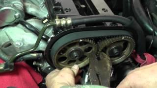 getlinkyoutube.com-Suzuki Forenza Timing Belt Replacement - Part 3