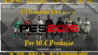 FTS 15 Modo Pes v7.0 (Patch) GamePlay