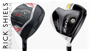 callaway golf x hot 3deep vs taylormade rbz stage 2