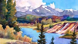 getlinkyoutube.com-(Preview) Painting Watercolor Landscape Art with Sharon Lynn Williams
