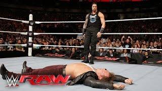 getlinkyoutube.com-Roman Reigns is confronted by Kevin Owens, AJ Styles, Sami Zayn & Chris Jericho: Raw, Apr. 4,. 2016