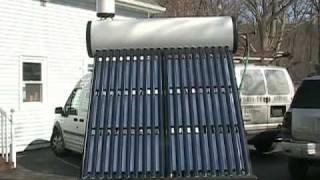 getlinkyoutube.com-Solar Hot Water Heater Thermosiphon DIY