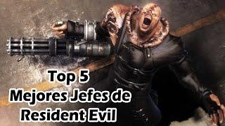 getlinkyoutube.com-Top 5 Mejores Jefes de Resident Evil