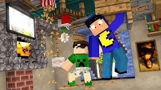 getlinkyoutube.com-Minecraft: CASA MAIS MALUCA DO MINECRAFT!