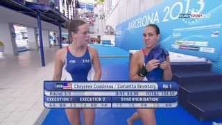 getlinkyoutube.com-Barcelona2013 Cheyenne Cousineau & Samantha Bromberg #2