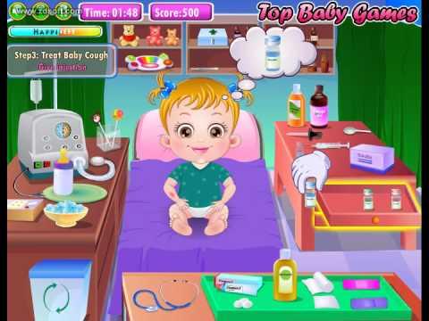 Leve a Bebê Hazel para o pediatra