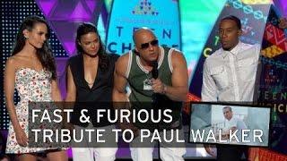 getlinkyoutube.com-Vin Diesel rinde homenaje a Paul Walker [Subtitulado]