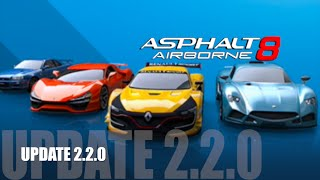 getlinkyoutube.com-Asphalt 8 New Update 2.2.0!
