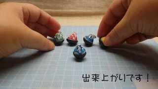 getlinkyoutube.com-♪ミニチュアデコ粘土♪  かき氷の作り方