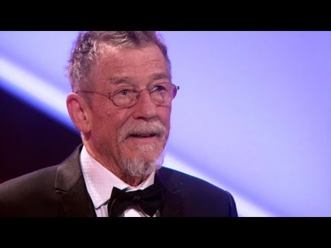 John Hurt's Acceptance Speech - The British Academy Film Awards 2012 - BBC One