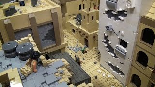 getlinkyoutube.com-LEGO The Second Battle of Ramadi Iraq War – BrickFair Virginia 2015