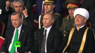 Putin, Abbas, Erdogan attend Moscow Grand Mosque opening ceremony