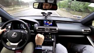 getlinkyoutube.com-Lexus IS F-Sport: Il test drive di HDmotori.it