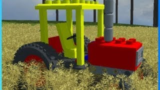 getlinkyoutube.com-Lego Tractor - Mod Contest 2013 - Farming Simulator