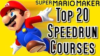 getlinkyoutube.com-Super Mario Maker Top 20 SPEEDRUN Courses (Wii U) [スーパーマリオメーカー] [スピードランコース]