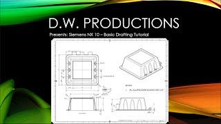 getlinkyoutube.com-Siemens NX 10 - Basic Drafting Tutorial