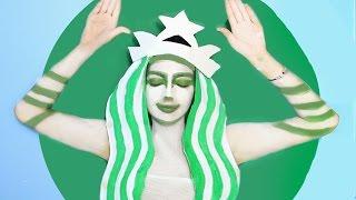 getlinkyoutube.com-DIY Starbucks Halloween Costume!