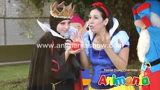 getlinkyoutube.com-Show Infantil Blanca Nieves - Animania Show