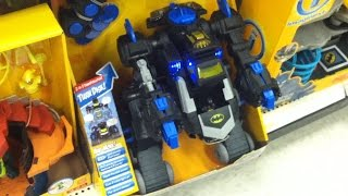 getlinkyoutube.com-Batman toys Imaginext Target with Batcave, Batbot, Castle 2014 videos