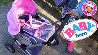 getlinkyoutube.com-BABY born deluxe Puppenwagen Zapf creation - Kanal für Kinder