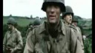getlinkyoutube.com-IRON MAIDEN - The trooper - Saving private Ryan