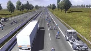 getlinkyoutube.com-Euro Truck Simulator 2 Zombieland