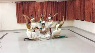 getlinkyoutube.com-SMR Onam 2014- Sivadam dance