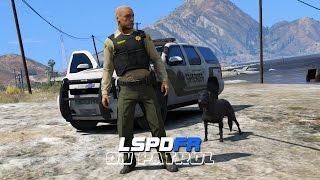 getlinkyoutube.com-LSPDFR - Day 95 - K9 Patrol