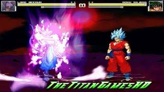 getlinkyoutube.com-Dragon Ball Z Extreme Butoden Mugen - Goku SSj God Vs Bills