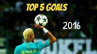 getlinkyoutube.com-Neymar Jr - Top 5 Goals 2016 (HD)
