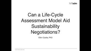 Sustainability Life-Cycle