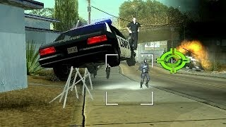 getlinkyoutube.com-GTA San Andreas - Cheats for Madness