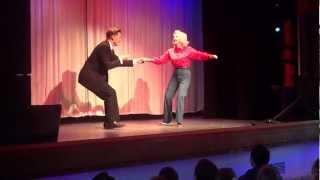 getlinkyoutube.com-88 Year Old Swing Dancer Cuts a Mean Rug!
