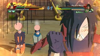 getlinkyoutube.com-Naruto Ultimate Ninja Storm Revolution - Madara x Naruto x Konohamaru CUJ Character Swap (PC)