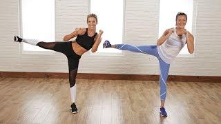 5-Minute Standing Flat-Belly Workout | Class FitSugar