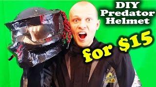 getlinkyoutube.com-DIY Predator Helmet - Easy Way