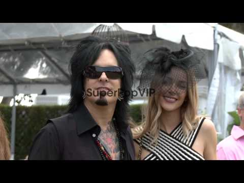 Nikki Sixx at the Third Annual Veuve Clicquot Polo Classi...