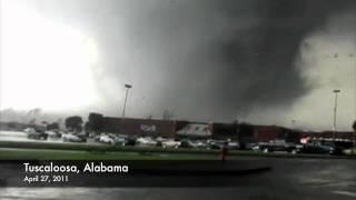 getlinkyoutube.com-Massive EF5 Killer Tornado Birmingham Alabama April 27th  Kills 43  (Raw Video)