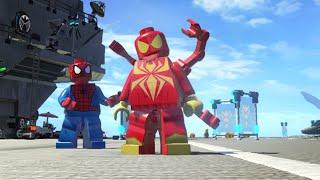 getlinkyoutube.com-LEGO Marvel Super Heroes - Iron-Spider (MOD)