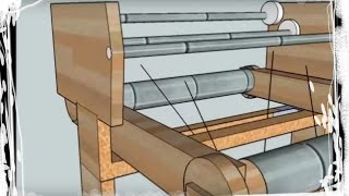 getlinkyoutube.com-Some ideas I have for making a weaving loom - Design #1,#2,#3,#4