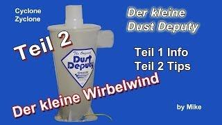 getlinkyoutube.com-Werkstattsauger/Dust Deputy Teil: II
