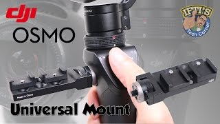 getlinkyoutube.com-DJI Osmo - Add External Mic's with the Universal Mount! : REVIEW