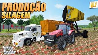 getlinkyoutube.com-Farming Simulator 2015 - Produção de Silagem no Paraná Map PT-BR
