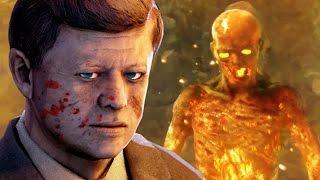 getlinkyoutube.com-CRAZIEST COD ZOMBIE BOSS EVER! Black Ops Zombies EASTER EGG Fury's Temple Gameplay Walkthrough
