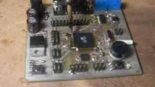Atmega128 desolder using simple lighter.