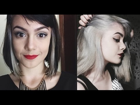 Do cabelo preto ao platinado