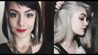 getlinkyoutube.com-Do cabelo preto ao platinado