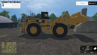 getlinkyoutube.com-Farming Simulator 2015 Caterpillar 994F for Silage v1.0 Loader Mod