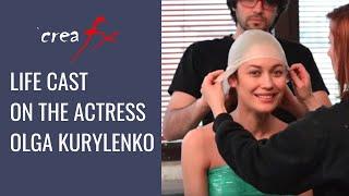 getlinkyoutube.com-Life Cast of the actress Olga Kurylenko - Crea Fx